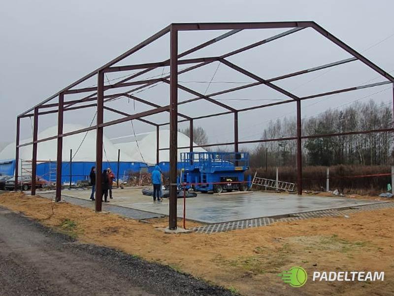 Wspieramy budowę kortów do gry w Padel w Łodzi – Padelteam